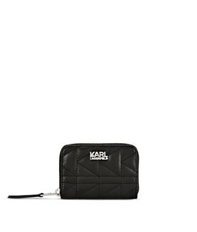 KARL LAGERFELD K/KUILTED SMALL WALLET