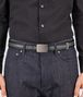 BOTTEGA VENETA BELT IN NERO ARDOISE NAPPA LEATHER Belt U ap