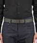 BOTTEGA VENETA BELT IN NEW LIGHT GREY INTRECCIATO NAPPA, EMBROIDERED DETAILS Belt Man ap