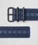 BOTTEGA VENETA BELT IN PACIFIC INTRECCIATO NAPPA, EMBROIDERED DETAILS Belt Man rp