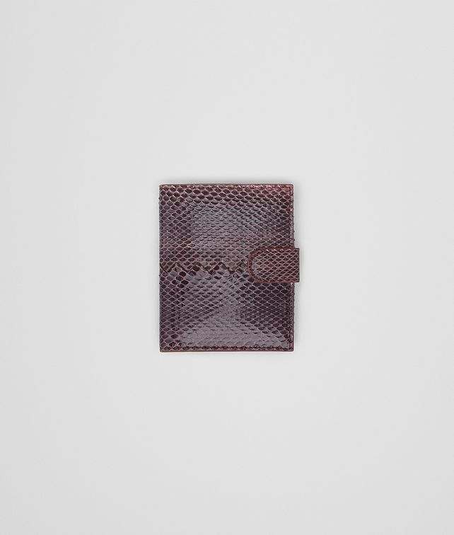 BOTTEGA VENETA DUSTY ROSE AYERS MINI WALLET Mini Wallet or Coin Purse D fp