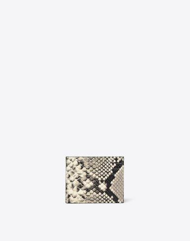 MAISON MARGIELA Wallets U Python double-sided credit card holder f