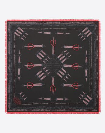 VALENTINO Patterned Scarf 46504387JD