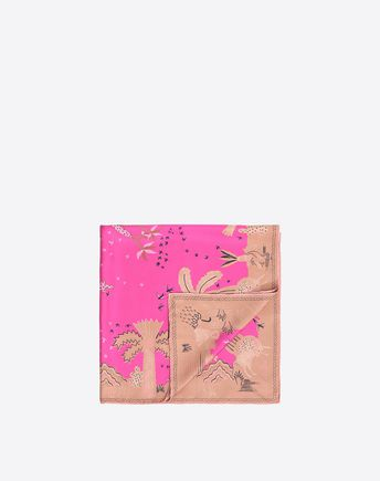 VALENTINO Patterned Scarf 46504392QN