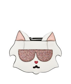 KARL LAGERFELD K/CAT FUN COIN PURSE