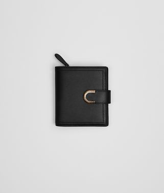 MINI WALLET IN NERO CALF