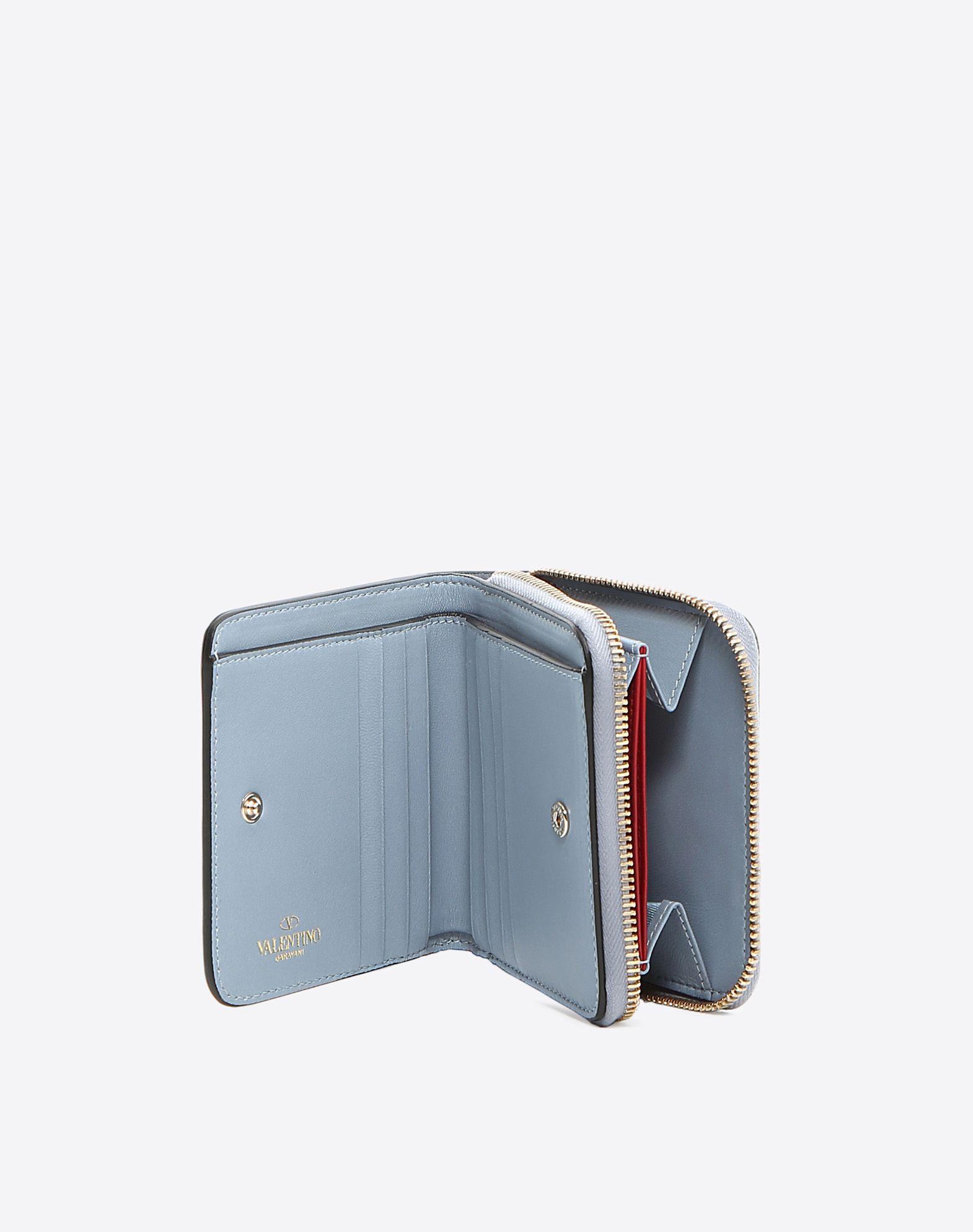 VALENTINO Studs Solid colour Zip closure Internal card slots  46506144kp