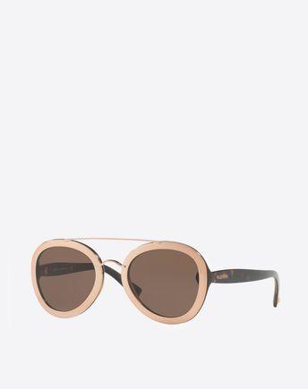 VALENTINO OCCHIALI Sunglasses D Metal and Nylon Sunglasses r