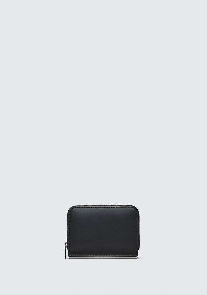 ALEXANDER WANG new-arrivals-accessories-woman DIME MINI COMPACT WALLET BAR IN BLACK