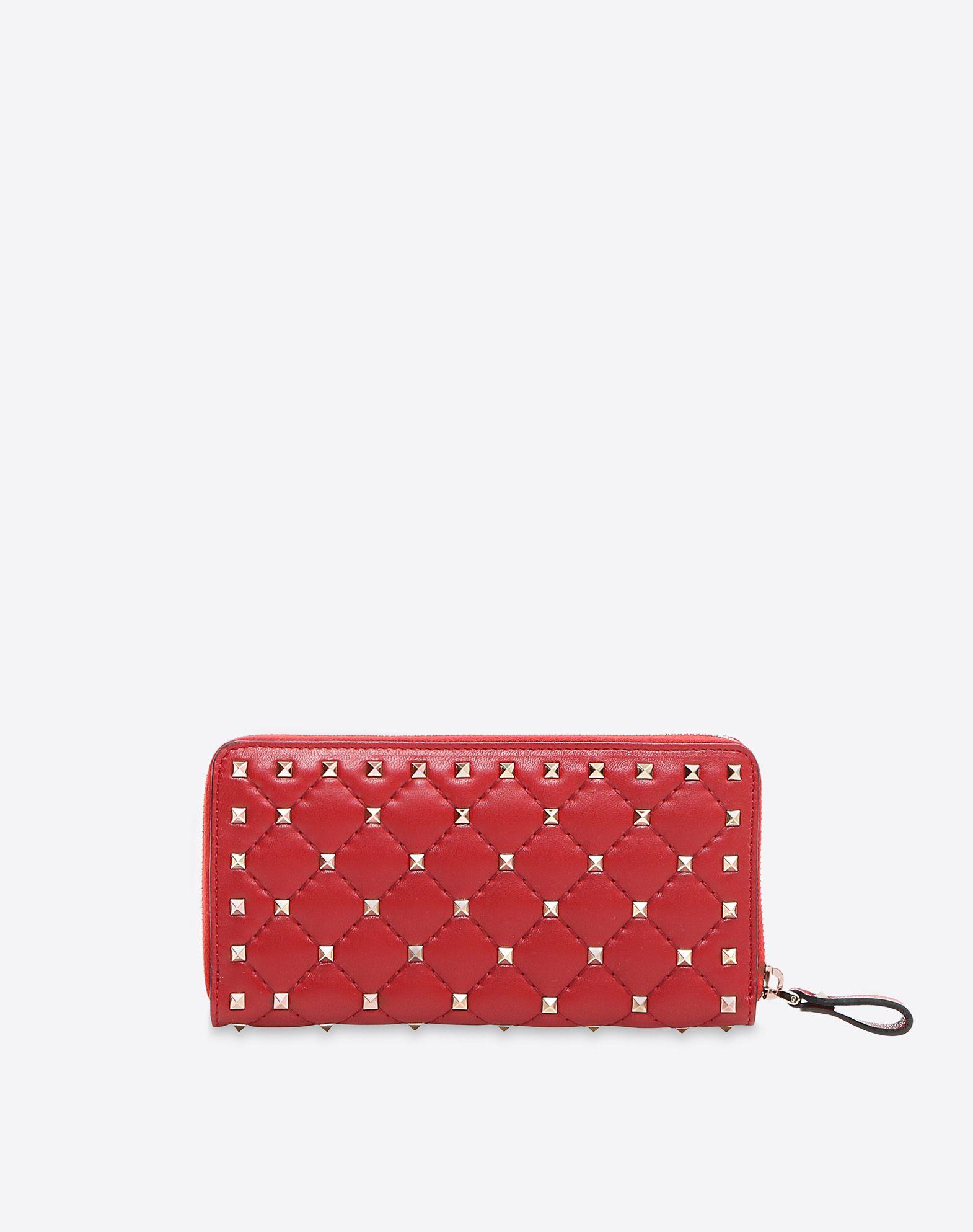 Valentino Rockstud Spike wallet bSiohD1qBr