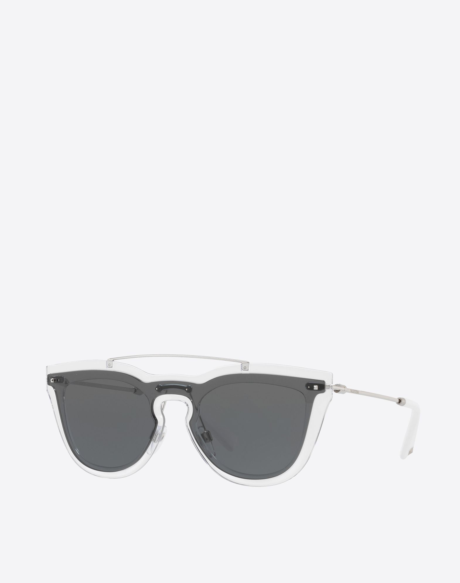 Sunglasses On Sale, Crystal, 2017, one size Valentino