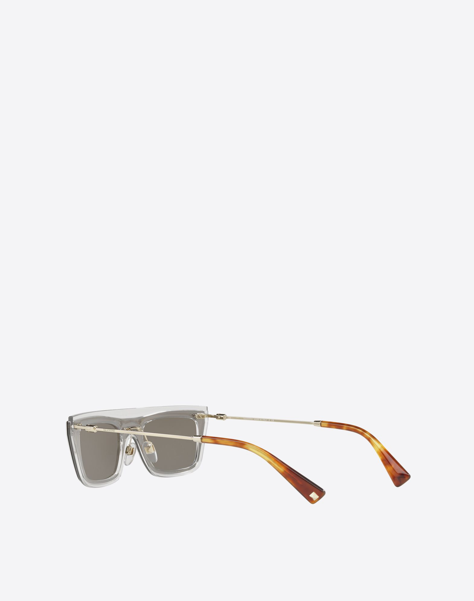 VALENTINO OCCHIALI Metal and Nylon Sunglasses Sunglasses U e