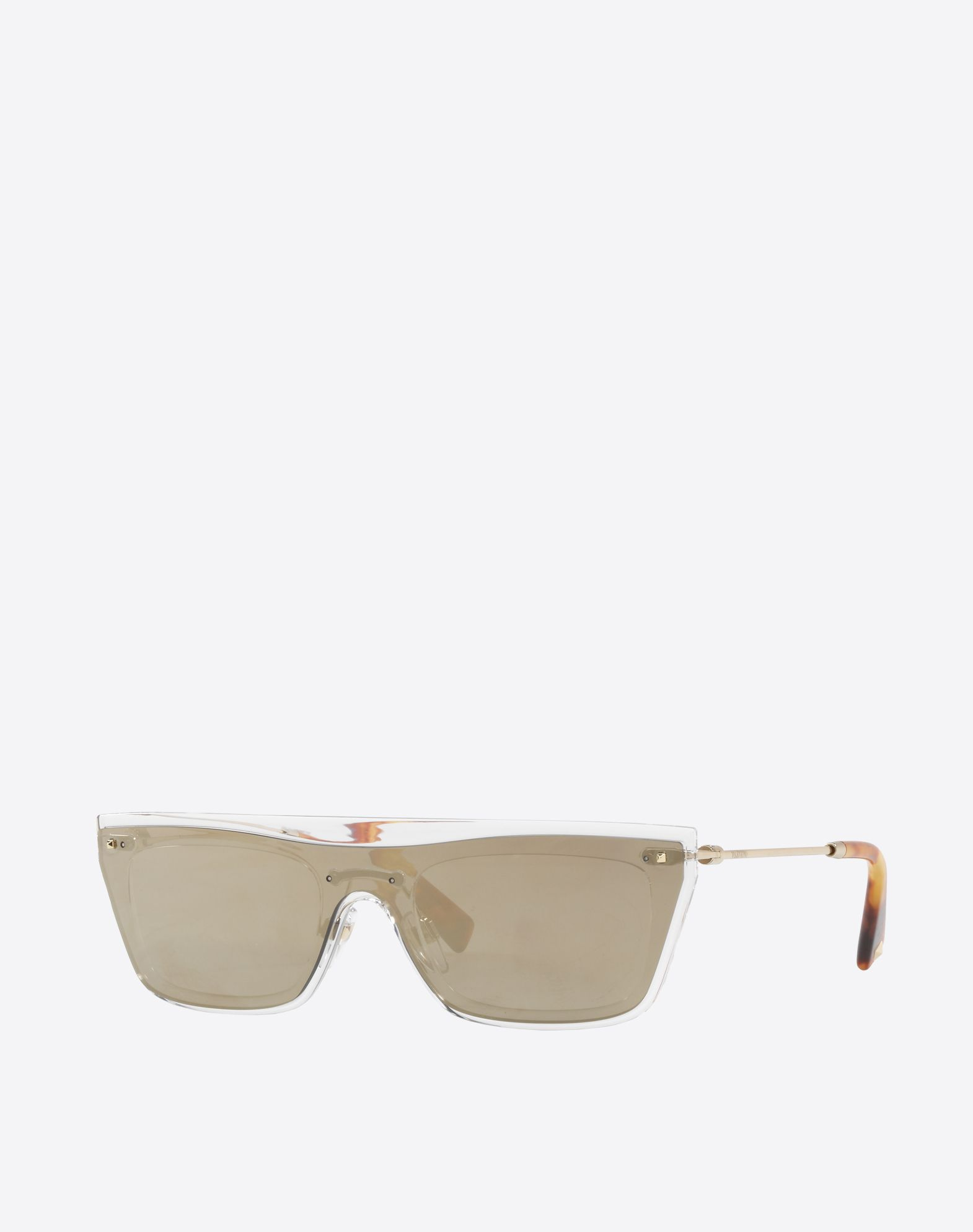 VALENTINO OCCHIALI Metal and Nylon Sunglasses Sunglasses U r