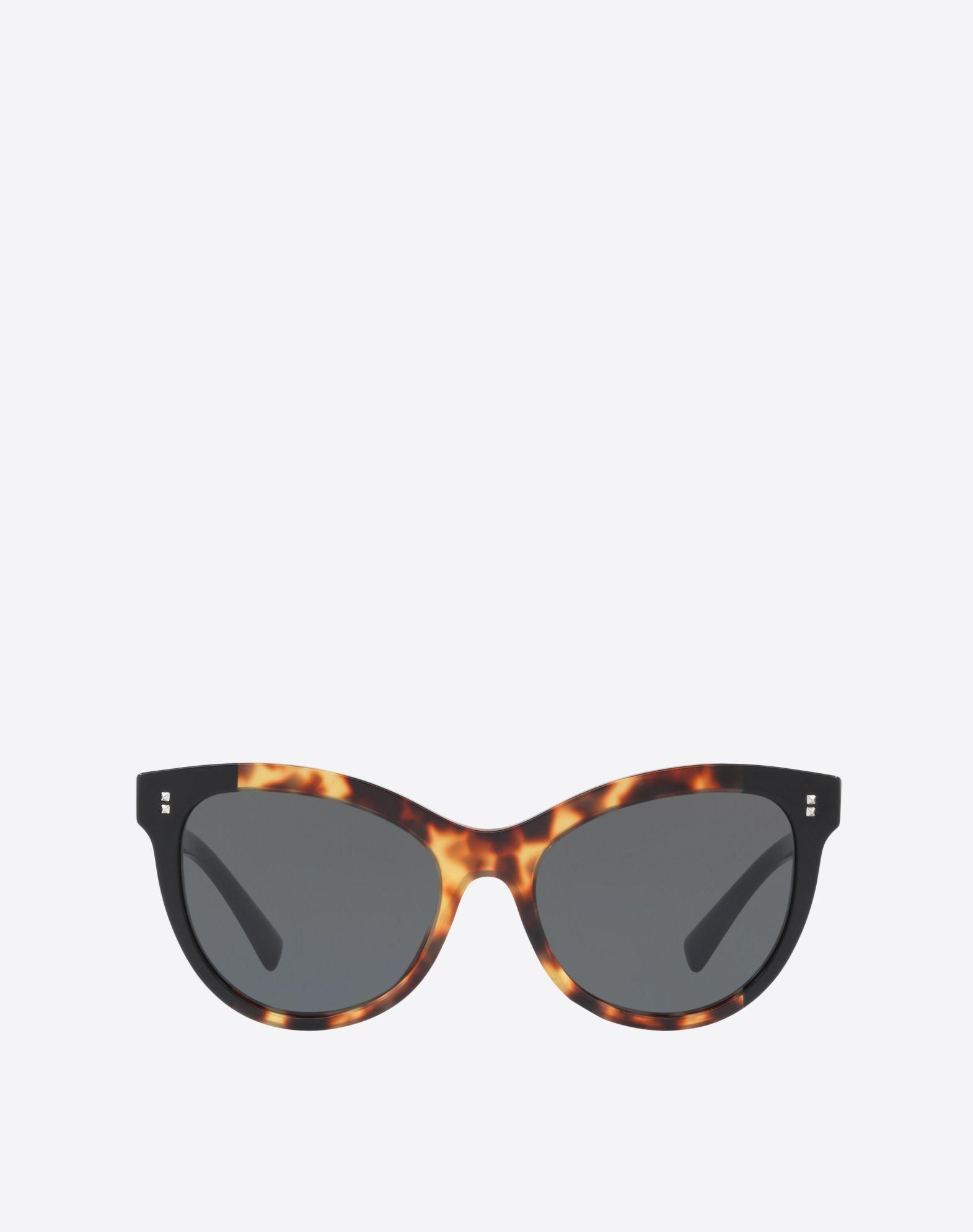 Sonnenbrille in Katzenaugenform aus Azetat mit Sternen MTcbB