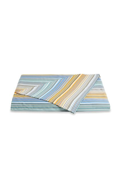 MISSONI HOME TIBAULT DUVET COVER  Pastel blue E - Back