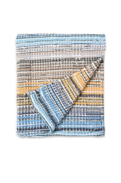 MISSONI HOME TANCREDI PLAID  Celeste E - Retro