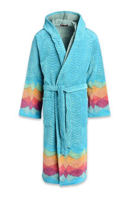 MISSONI HOME Towelling robe E VASILIJ HOODED BATHROBE m
