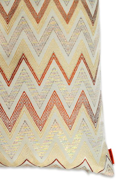 MISSONI HOME TAIPEI CUSHION Grey E - Front