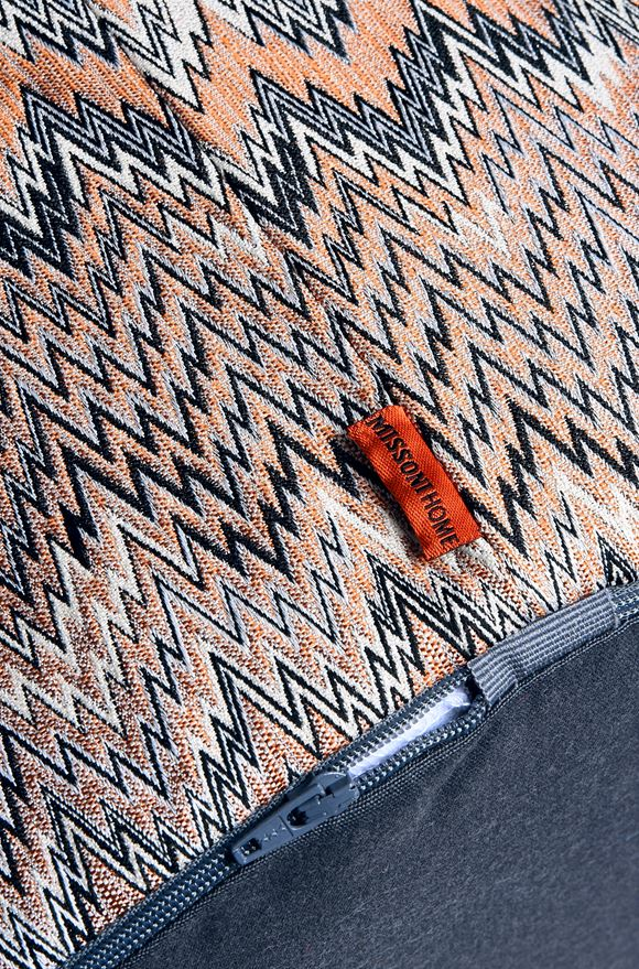 MISSONI HOME THAILAND CYLINDER POUF E, Side view