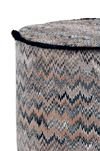 MISSONI HOME THAILAND CYLINDER POUF E, Rear view