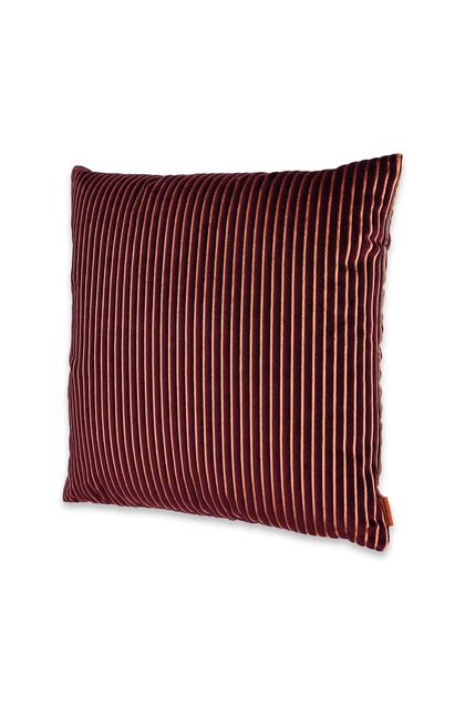 MISSONI HOME RAFAH CUSHION Dark purple E - Back
