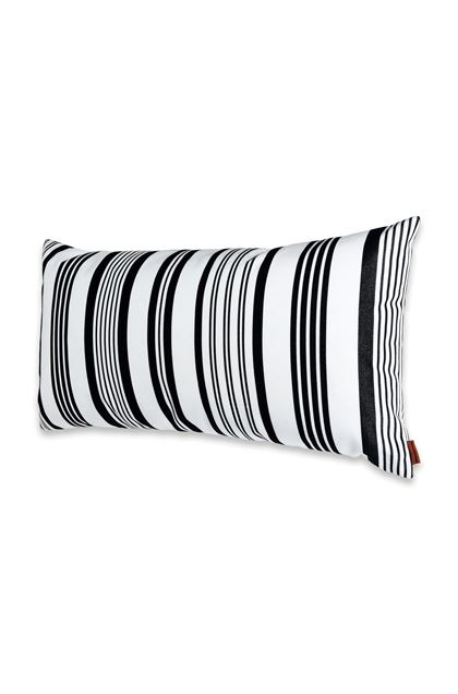 MISSONI HOME RAINBOW CUSHION White E - Back