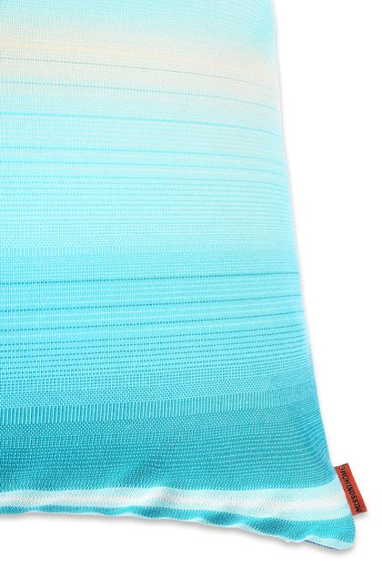 MISSONI HOME TONGA CUSHION Turquoise E - Front