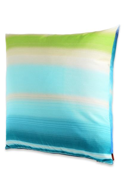 MISSONI HOME TONGA CUSHION Turquoise E - Back