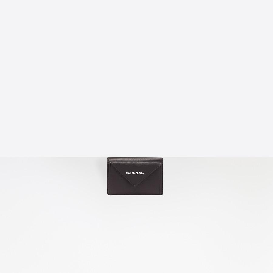 Papier Mini Wallet Black | Balenciaga