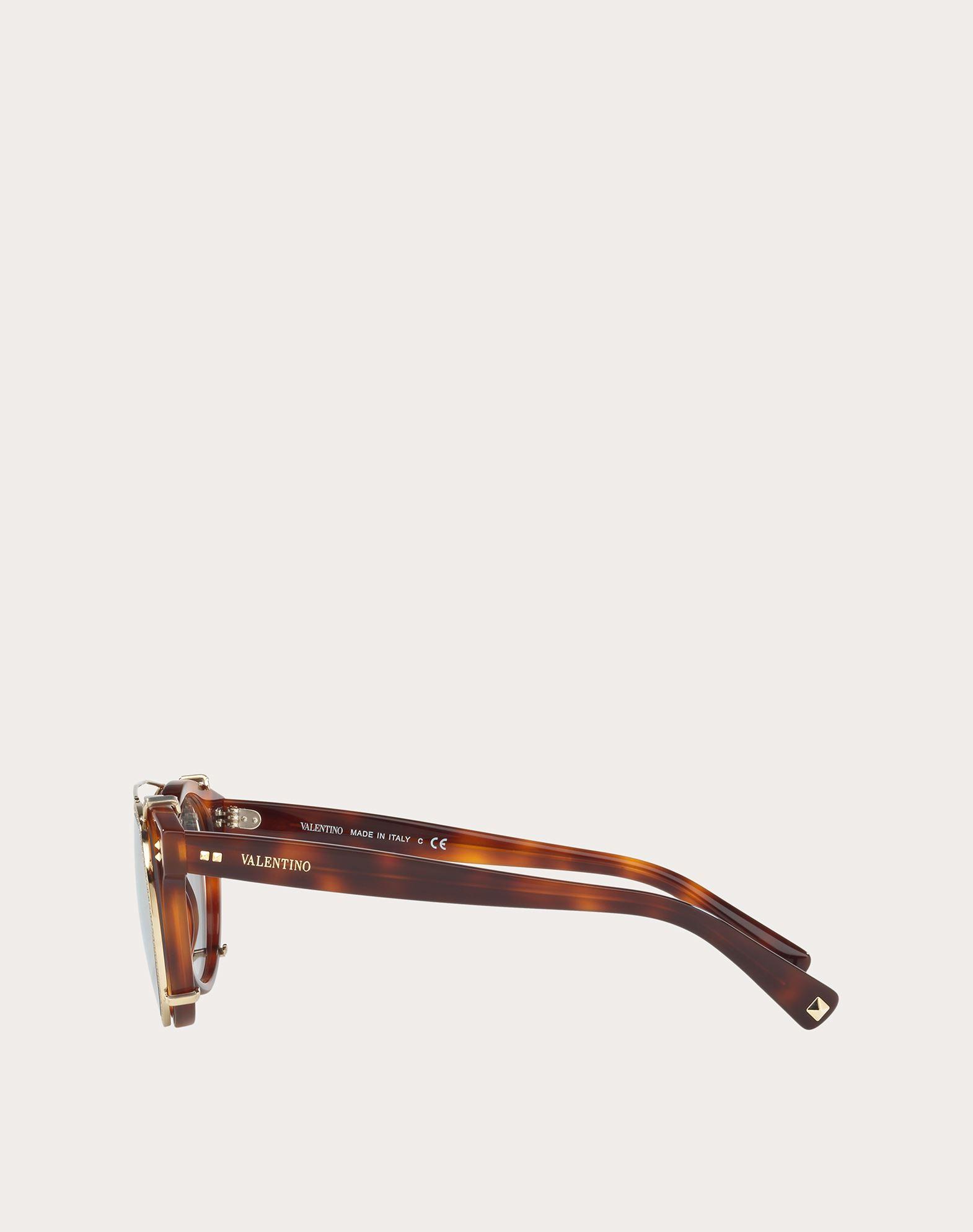 VALENTINO OCCHIALI Acetate Sunglasses Sunglasses U d
