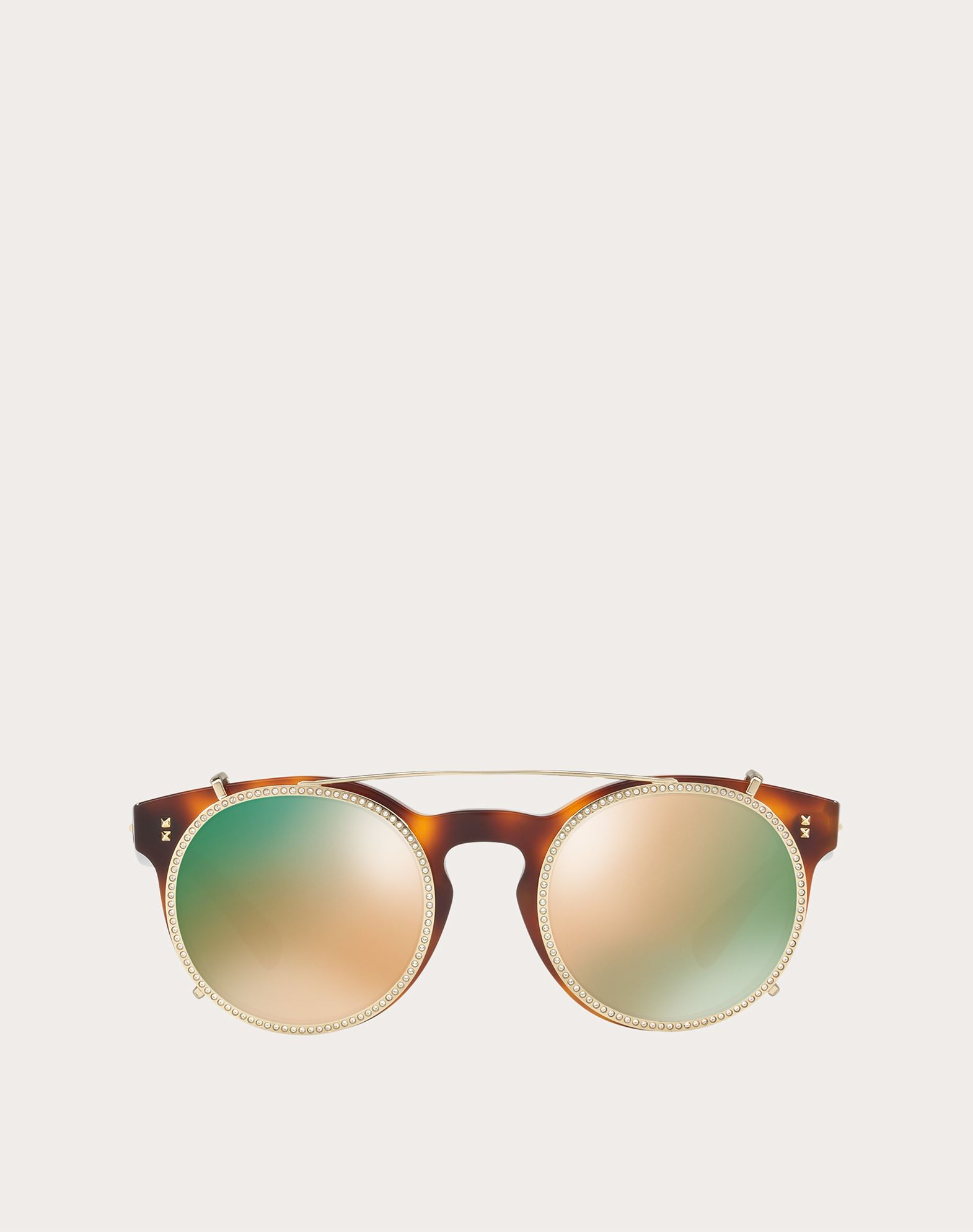 VALENTINO OCCHIALI Acetate Sunglasses Sunglasses U f