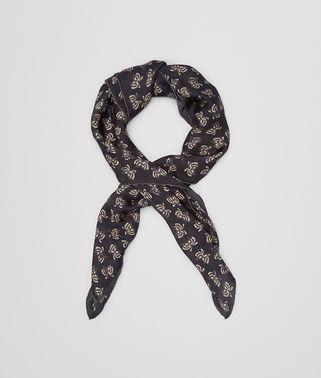 マルチカラー シルク シフォン スカーフ