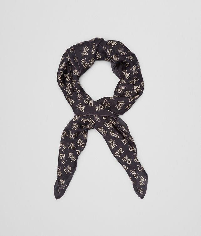 BOTTEGA VENETA FOULARD IN NERO SILK CHIFFON Scarf or other D fp