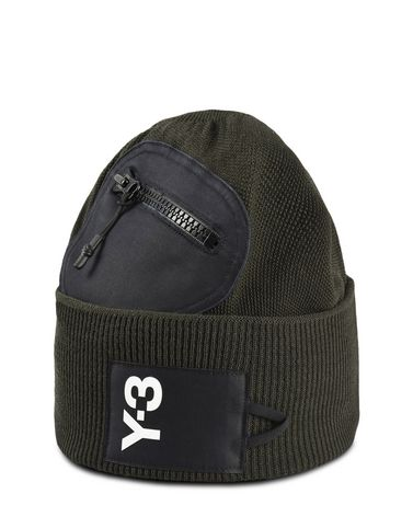 Y-3 POCKET BEANIE OTHER ACCESSORIES man Y-3 adidas