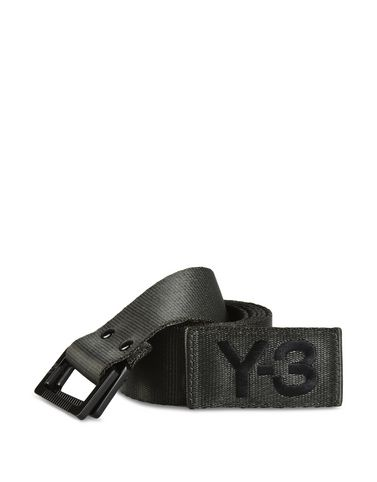 Y-3 BLACK OLIVE BELT OTHER ACCESSORIES man Y-3 adidas