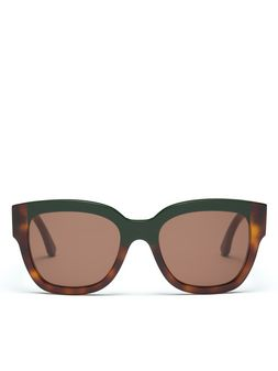 Marni Marni Cromo Acetate glasses bi-layer temple Woman