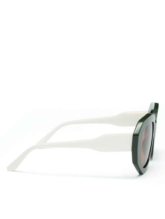 Marni Acetate glasses contrast temple Woman - 3