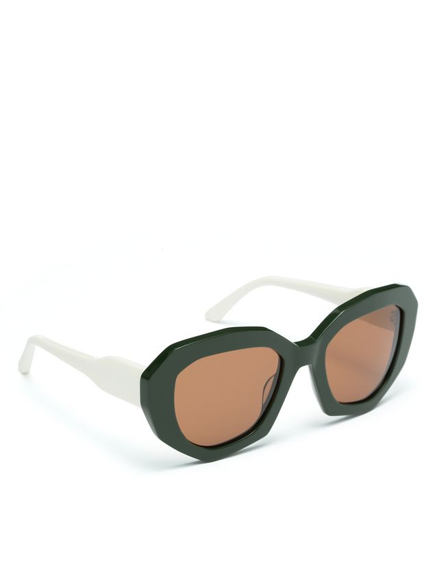 Marni Acetate glasses contrast temple Woman - 2