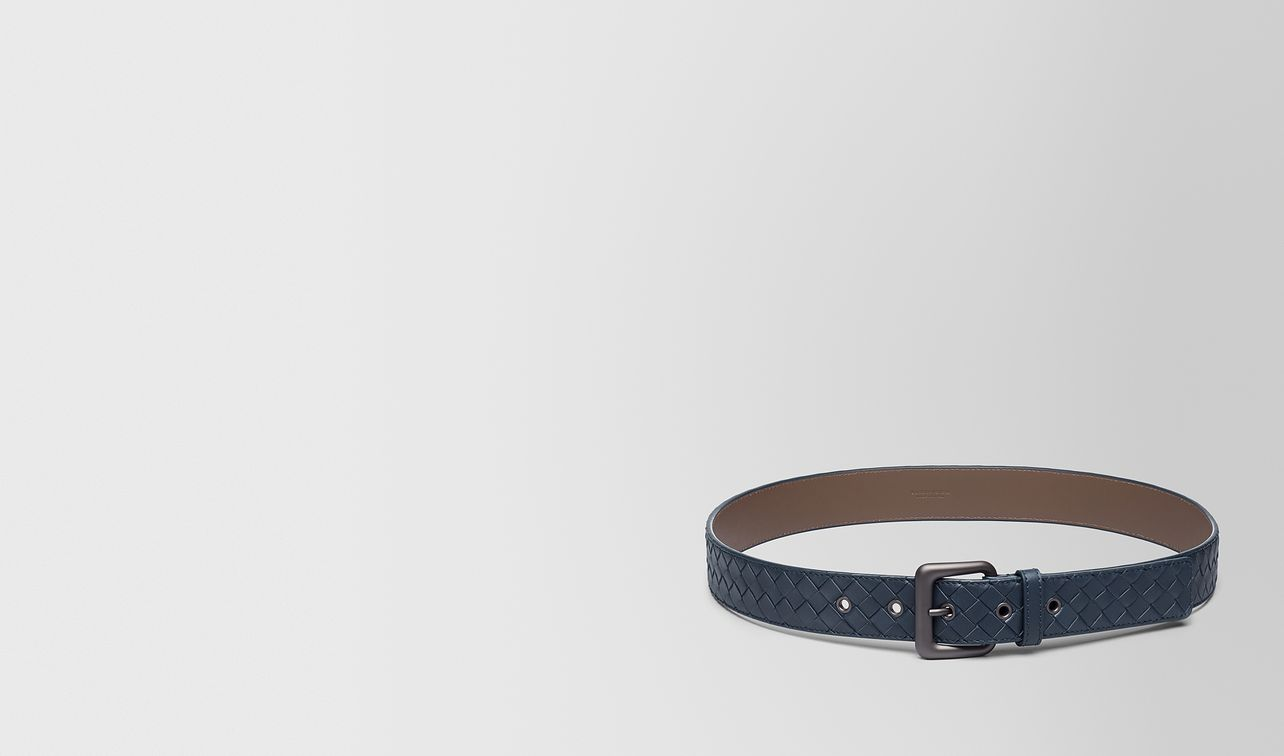 belt in denim intrecciato vn landing