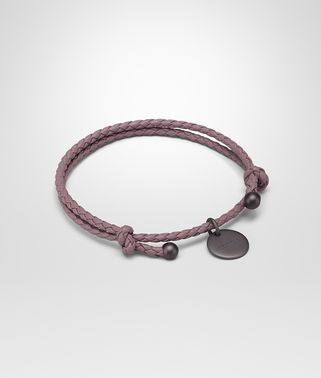 BRACELET IN GLICINE INTRECCIATO NAPPA LEATHER