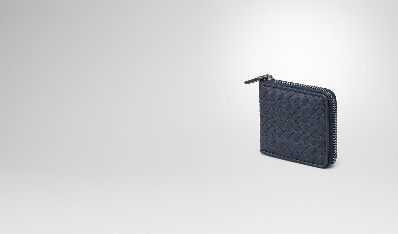 zip around wallet in denim intrecciato vn landing