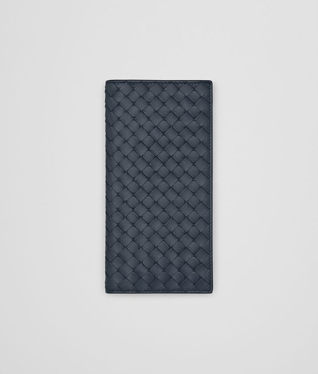 BOTTEGA VENETA DENIM INTRECCIATO CONTINENTAL WALLET Continental Wallet Man fp
