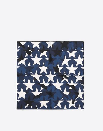 VALENTINO Printed Pocket Square 46513449SO
