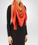 BOTTEGA VENETA SCARF IN LIGHT BROWN ORANGE WOOL Scarf or other D rp