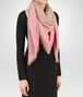 BOTTEGA VENETA SCARF IN IVORY PINK WOOL Scarf or other D rp