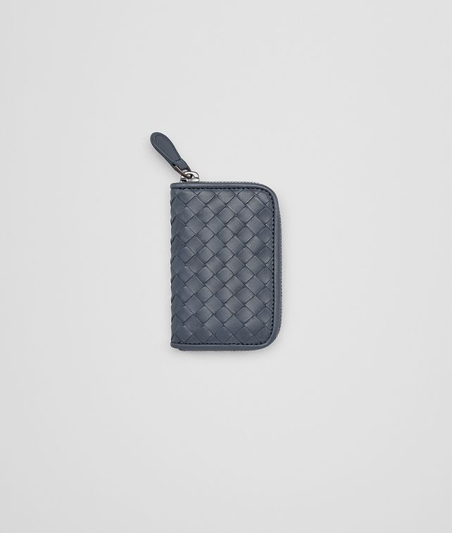 BOTTEGA VENETA COIN PURSE IN KRIM INTRECCIATO VN Card Case or Coin Purse Man fp