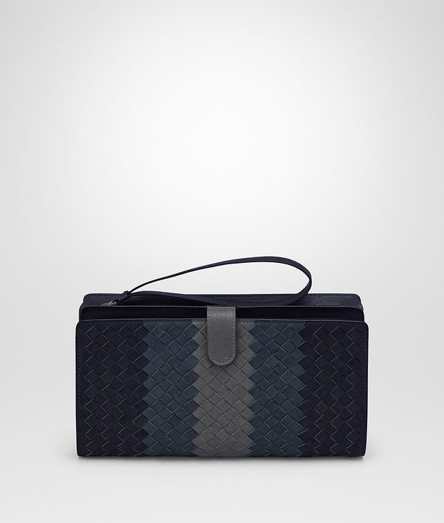 BOTTEGA VENETA MULTICOLOR INTRECCIATO CLUB LAMB MULTI-FUNCTIONAL CASE Document case Man fp