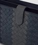 BOTTEGA VENETA MULTI FUNCTIONAL CASE IN NEW DARK NAVY DENIM ARDOISE INTRECCIATO LAMB CLUB Other Leather Accessory U ep