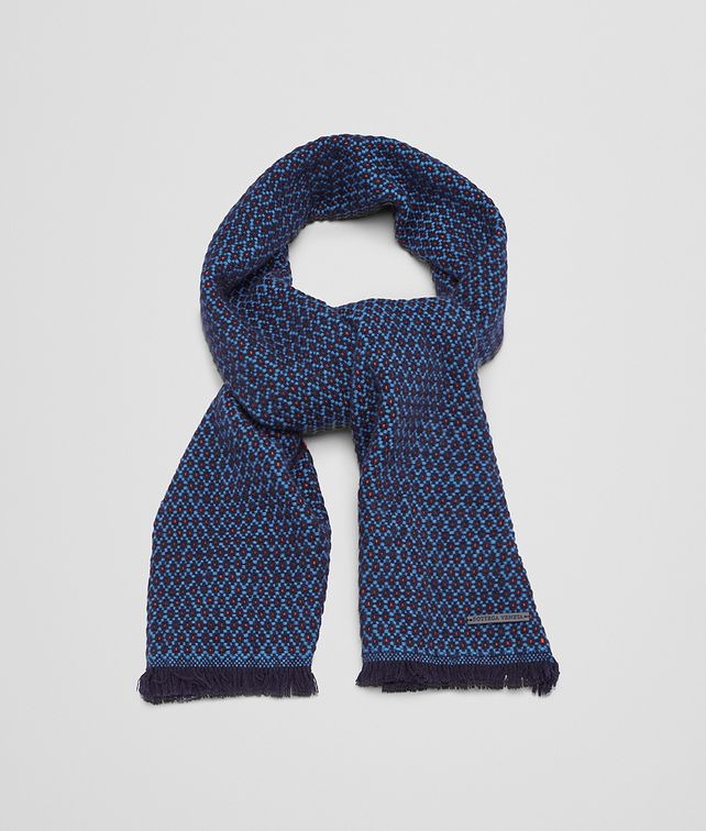 BOTTEGA VENETA MIDNIGHT BLUE BLUE CASHMERE SCARF Scarf or other U fp