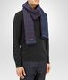 BOTTEGA VENETA MIDNIGHT BLUE BLUE CASHMERE SCARF Scarf or other U rp